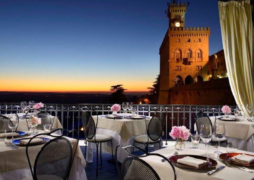 Grand Hotel San Marino: una location che vi sorprenderà per organizzazione, posizione ed eleganza