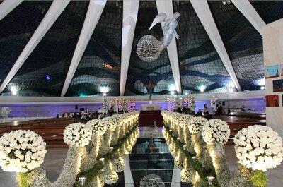 Decoradores de casamento em Brasília: os 6 profissionais mais requisitados!