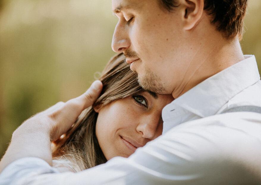 Позирование на свадебных фотографиях: полезные советы!