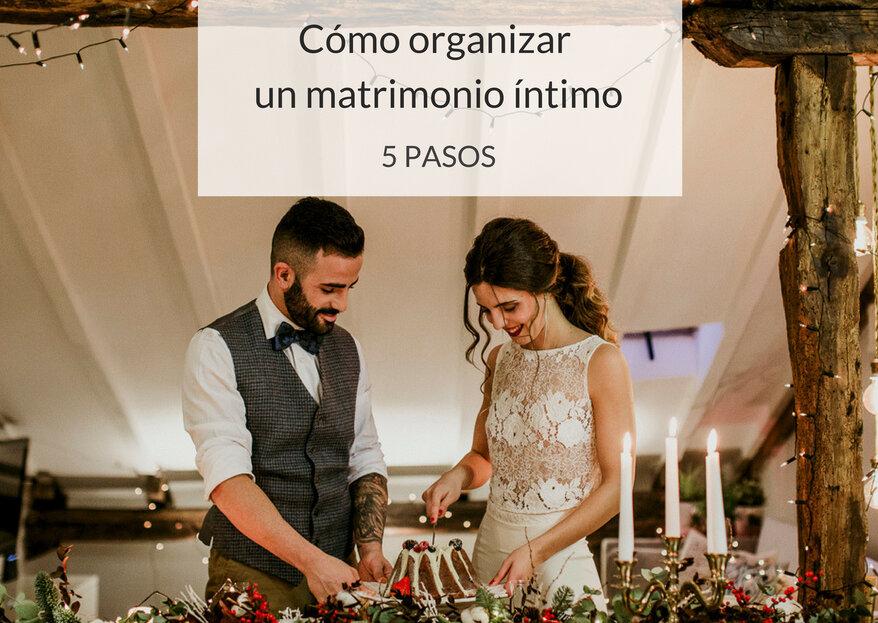 ¿Cómo organizar un matrimonio íntimo? ¡Celebra el amor junto a tus invitados más cercanos!