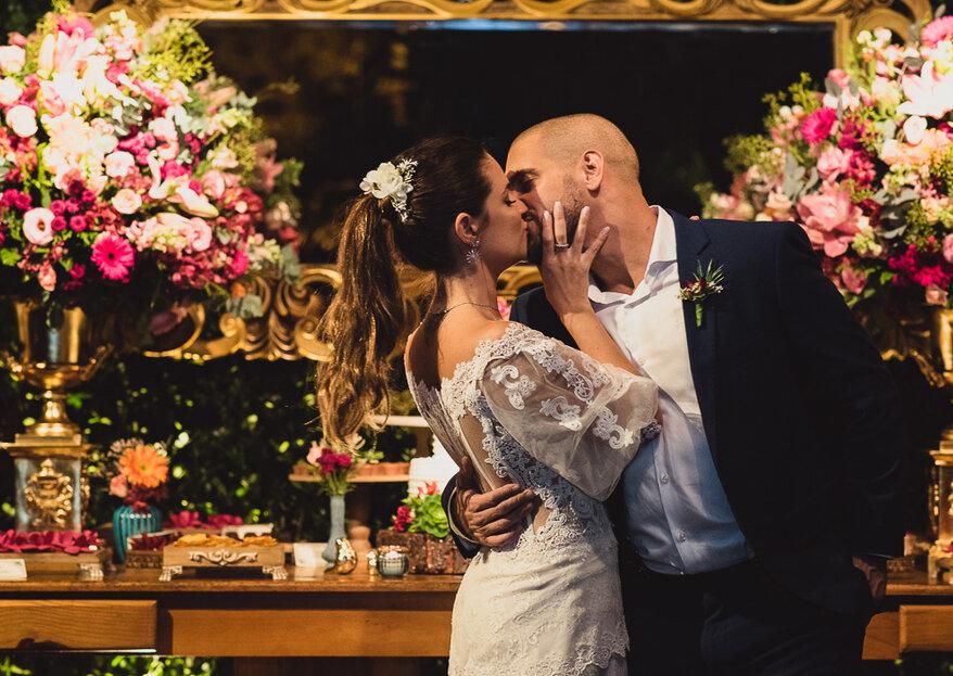 Priscila & Lucas: Casamento rústico, informal e lindo com a ajuda da Angel Assessoria & Cerimonial