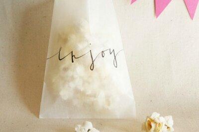8 detalles de boda económicos para regalar a los invitados