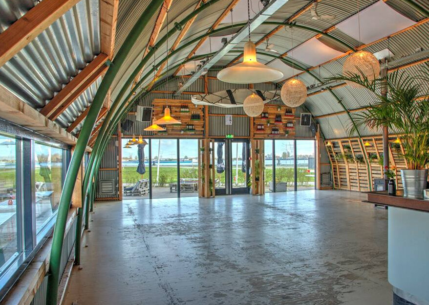 De perfecte trouwlocatie voor een industriële bruiloft: Haddock Amsterdam!