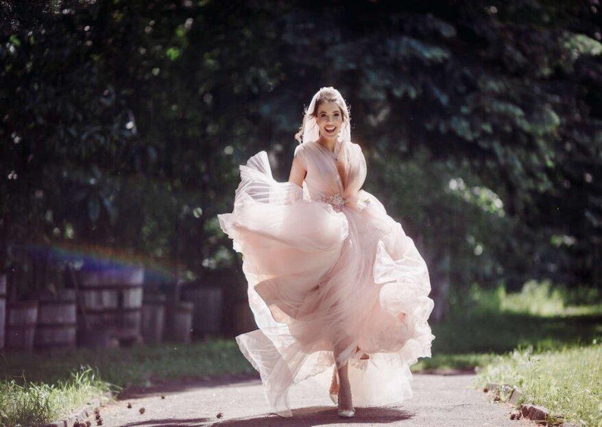 Vestiti di un sogno: trova l'abito da sposa che fa per te