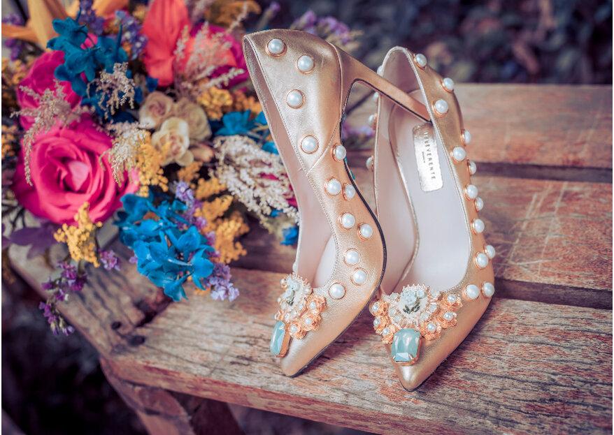 Zapatos de novia: pasos y consejos para escogerlos con estilo y personalidad