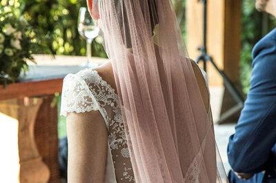 8 detalles en rosa para el look de las novias más románticas
