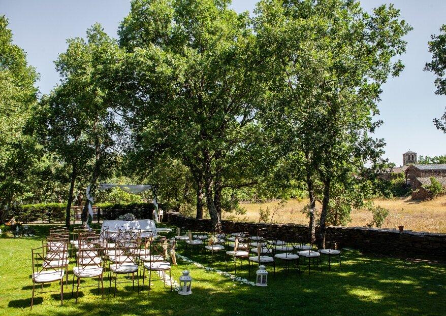 Aldea Tejera Negra celebra bodas que permanecen en el recuerdo para siempre