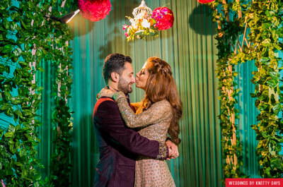Amazing wedding of Shweta and Shubham- the one that started in the teenage