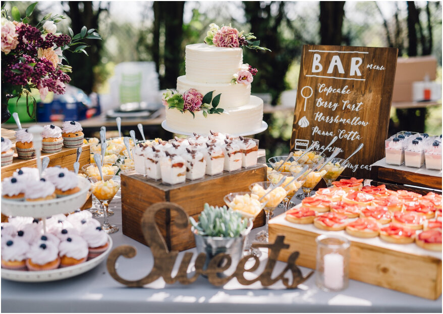 Zoetekauwen opgelet: ga voor een candy bar op de bruiloft!