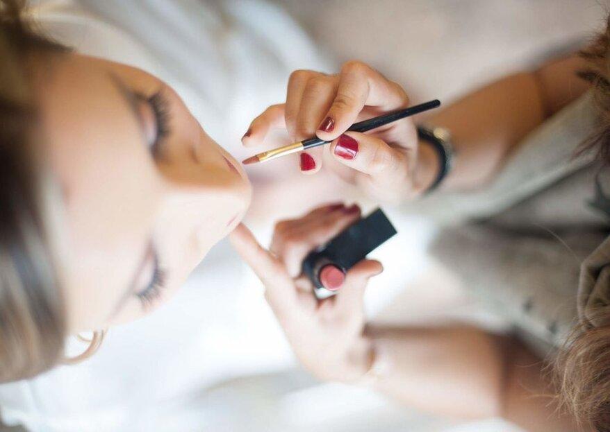 Maquillaje de labios para novias: ¿qué color es el tuyo?