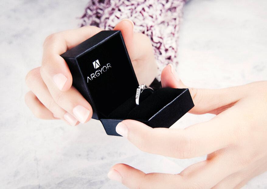 Cómo elegir el diamante del anillo de compromiso: ¡conoce la regla de las 4 c's!