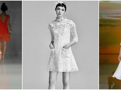 Abiti da sposa corti: ecco i modelli più sbarazzini!