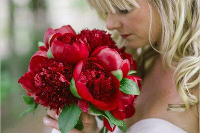 Красный цвет в образе невесты