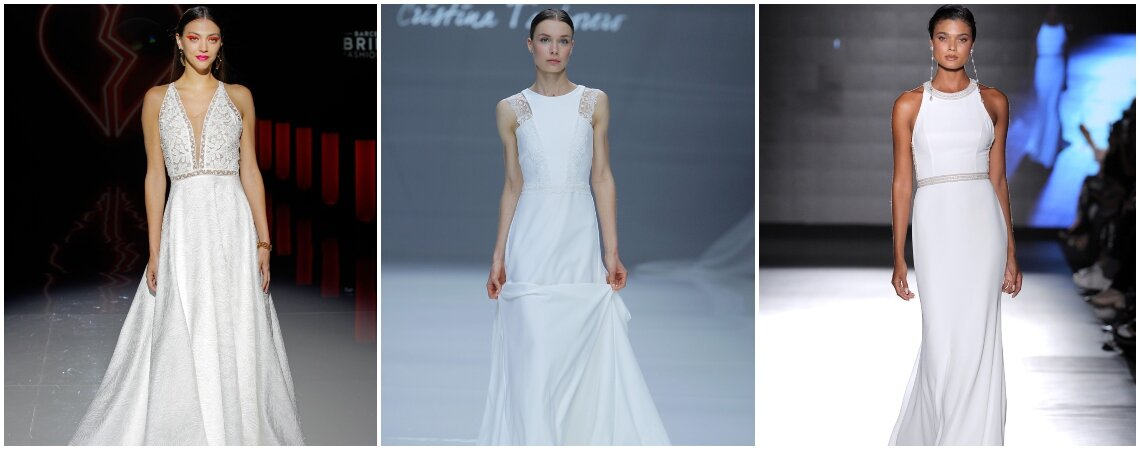 Свадебные платья для девушек с небольшой грудью: модели, которые нельзя упустить!