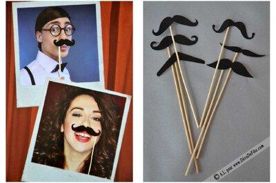 3 accessoires indispensables et tendances pour le photobooth de votre mariage !