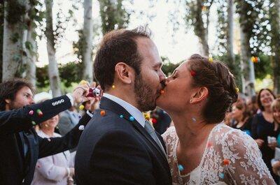 Una boda rústica llena de detalles: el gran día de Elvira y Gustavo