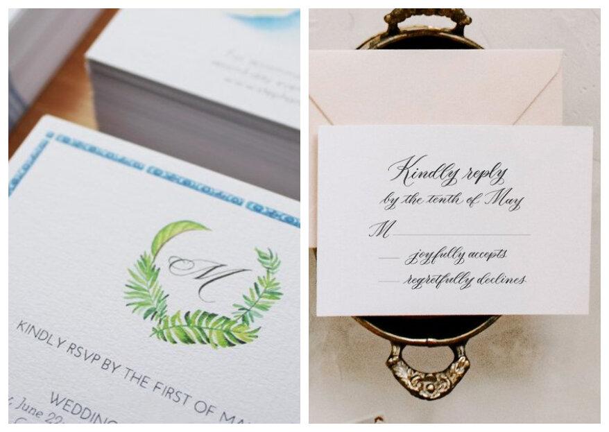 RSVP op je trouwkaart: Waarom is dat belangrijk?