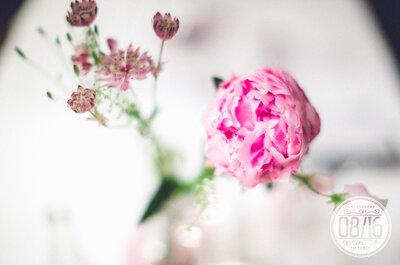10 Fragen, die Sie Ihrem Hochzeitsfloristen stellen sollten: Ihre Blumendekoration im Mittelpunkt!