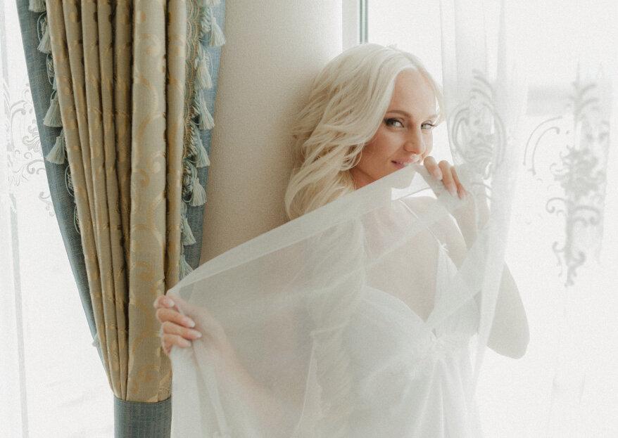 Encuentra la lencería perfecta de novia según la forma de tu vestido