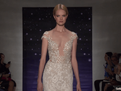 Reem Acra 2016 Spring Bridal Collection Catwalk at New York Bridal Fashion Week
