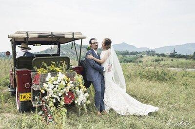 Vestido de novia para matrimonio campestre: 5 características que debe tener