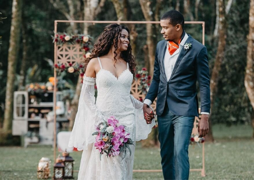 Editorial Amour D'Autonme: um elopement wedding outonal realizado no Bosque do Ravena Garden