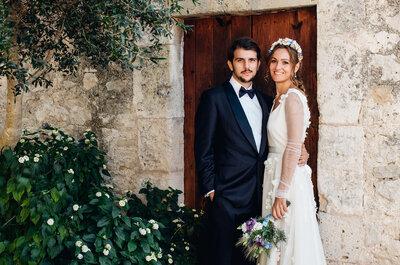 Magia en Mallorca: la boda de Cristina y Cristian