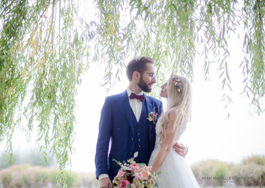 Hélène et Tibo: un mariage sans stress sous le signe de la fête !
