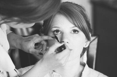 Ein sommerlicher Teint für das Braut Make-up - wie von der Sonne geküsst!
