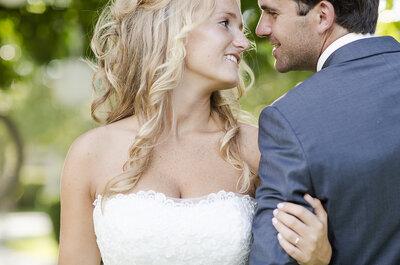 Diantha e Bruno: Um casamento vintage, romântico e com muito DIY à mistura