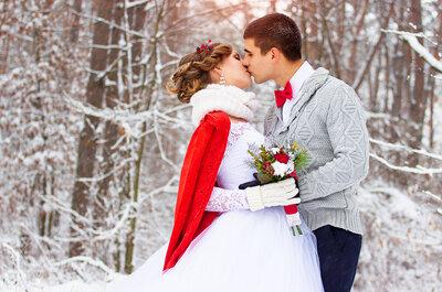 Perché sposarsi in inverno? La domanda è perché no: 5 aspetti a cui non avevi pensato