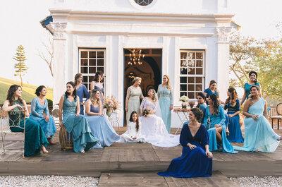 Madrinhas de casamento 2017: todas as tendências!