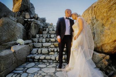 La boda de Emely y Daniel: ¡alegría y romance frente al mar!