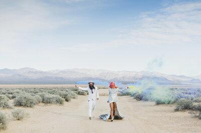 Las Vegas, Rock 'n' Roll und die epische Hochzeit von Ainsley und Sebastien!