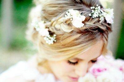 Nudos de encanto: Las trenzas se convierten en el peinado must para las novias trendy