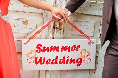 Frühling, Sommer, Herbst oder Winter … Welcher Hochzeitstyp sind Sie?