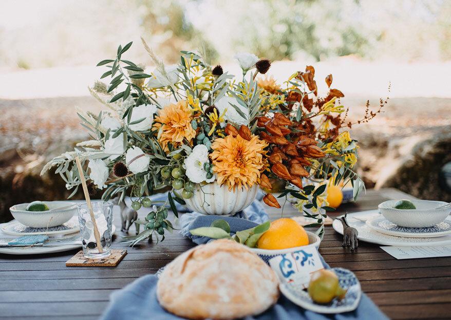 Uma cerimónia civil com flores: as dicas para uma atmosfera repleta de cor e elegância!