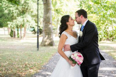 Sarah et Quentin : un mariage fleuri aux couleurs rose pastel et blanc dans l'Oise