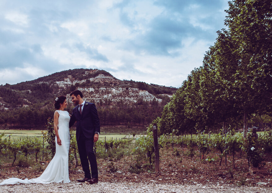 Alegría y buen rollo: la boda de Lorena y Manuel
