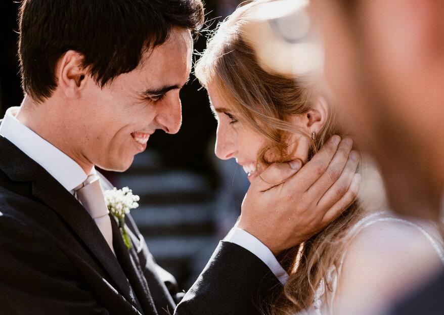 Como reagirá o seu noivo ao vê-la? Fique a conhecer as 7 reações possíveis!