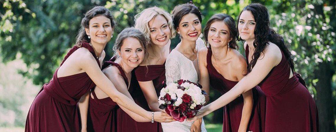ТОП5 Платья подружек невесты — где купить или взять в аренду в Санкт-Петербурге?