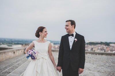Un amor sencillo y muy romántico: la boda de Anna y Jordi