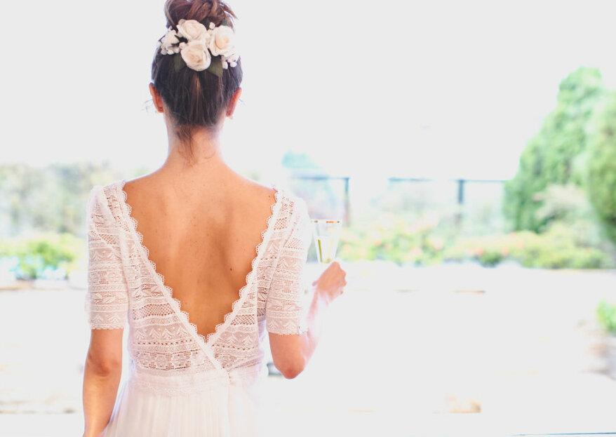 Bordados, rendas, pérolas... tudo para a confecção do vestido de noiva que qualquer mulher ambiciona!
