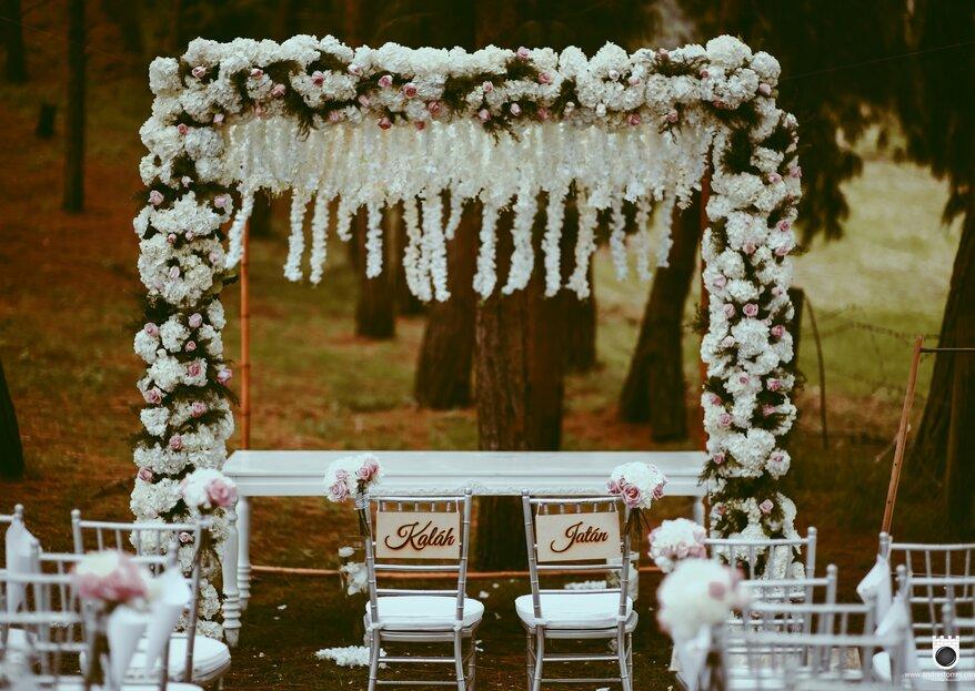 Cinco detalles casi invisibles que determinarán el éxito de tu boda