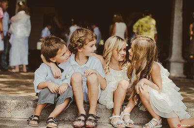 Маленькие гости: 6 советов как одеть детей на свадьбу