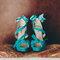 Sapatos de noiva.