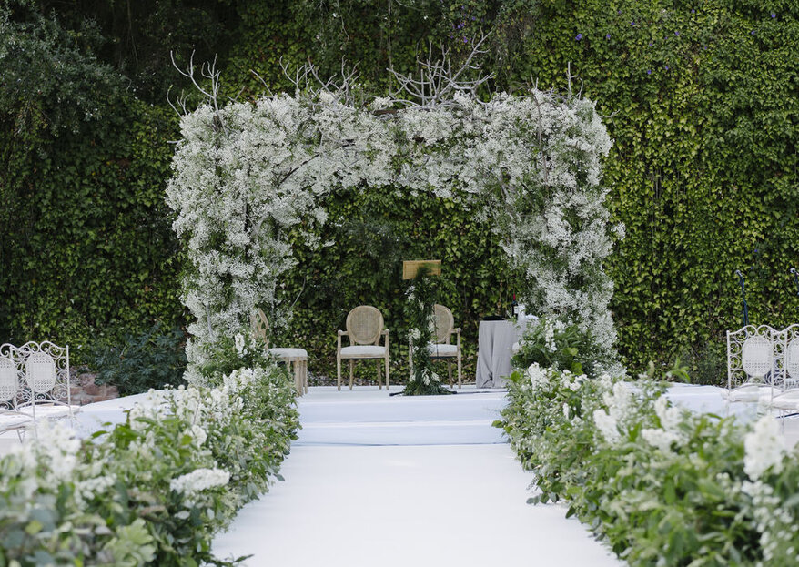 ¿Una boda deliciosa al aire libre? ¡En Málaga es posible en Finca La Concepción!