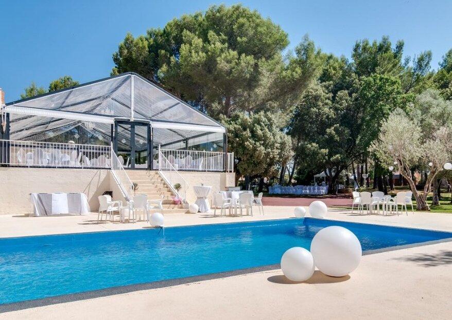 Si vous rêvez d'un mariage bohème chic, le Domaine du Castellet est le lieu qu'il vous faut !