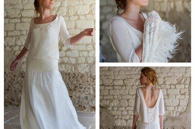 Craquez pour ces 10 robes de mariée bohèmes et romantiques signées Salomé Gautard