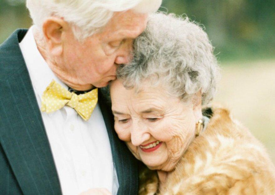 Quando l'amore non ha paura del tempo: 63 anni insieme